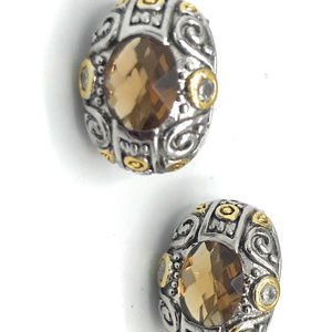Amber Post Earrings (Case 2) 785